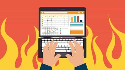 Computer-writing-fire